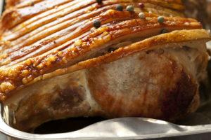 Classic pork roast