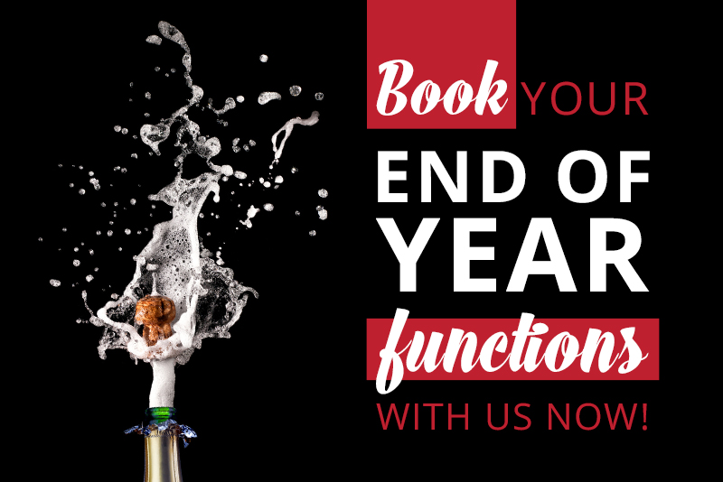 Have you booked your end of year function book with butcher block